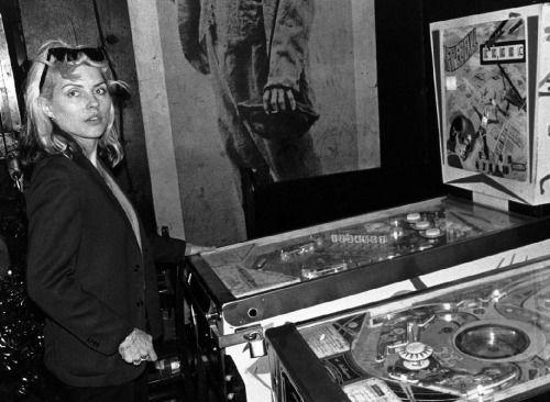 Debbie Harry pinball wizard…