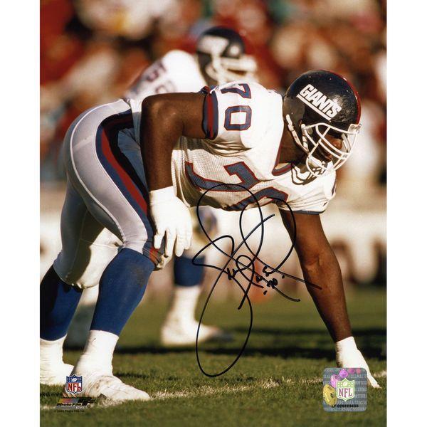"Leonard Marshall New York Giants Fanatics Authentic Autographed 8"" x 10"" 3 Point Stance Photograph - $31.99"