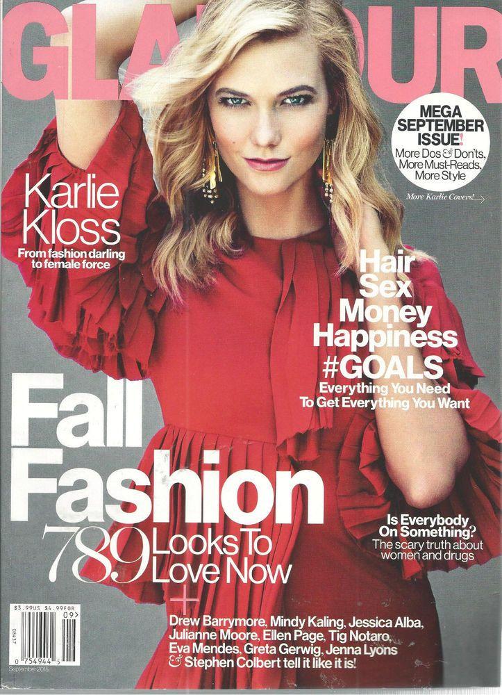 Karlie Kloss Glamour Magazine September 2015 Fall Fashions  #CondeNast