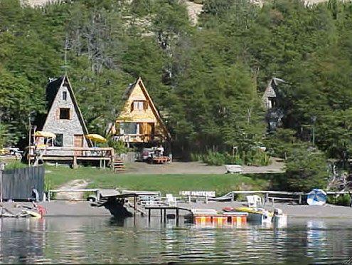 Cabañas Los Maitenes,  Lago Moquehue - Villa Pehuenia - Patagonia Argentina