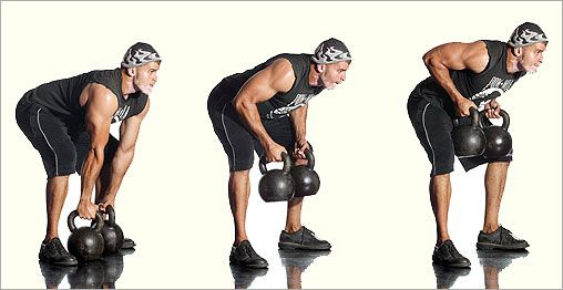 Kettlebell Exercises to Kick Butt #2: Kettlebell Rows