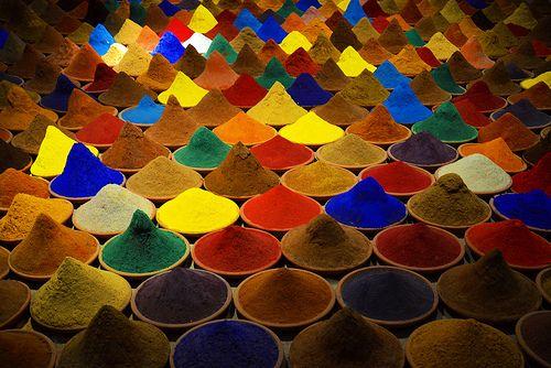 campo de color