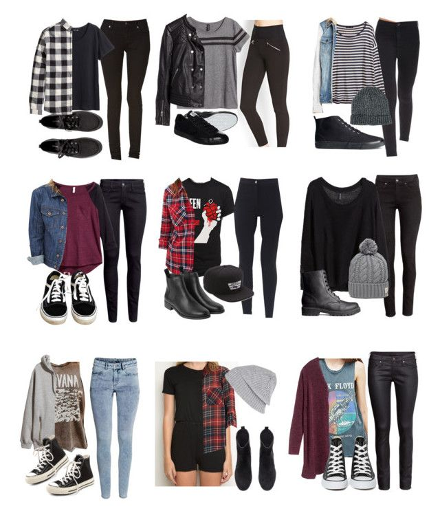 """""""Affordable School Outfits"""" by fivesecondsofinspiration ❤ liked on Polyvore featuring Forever 21, H&M, Converse, Vans, Monki, Brandy Melville, River Island, Floyd, ASOS and Duffer Of St George"""