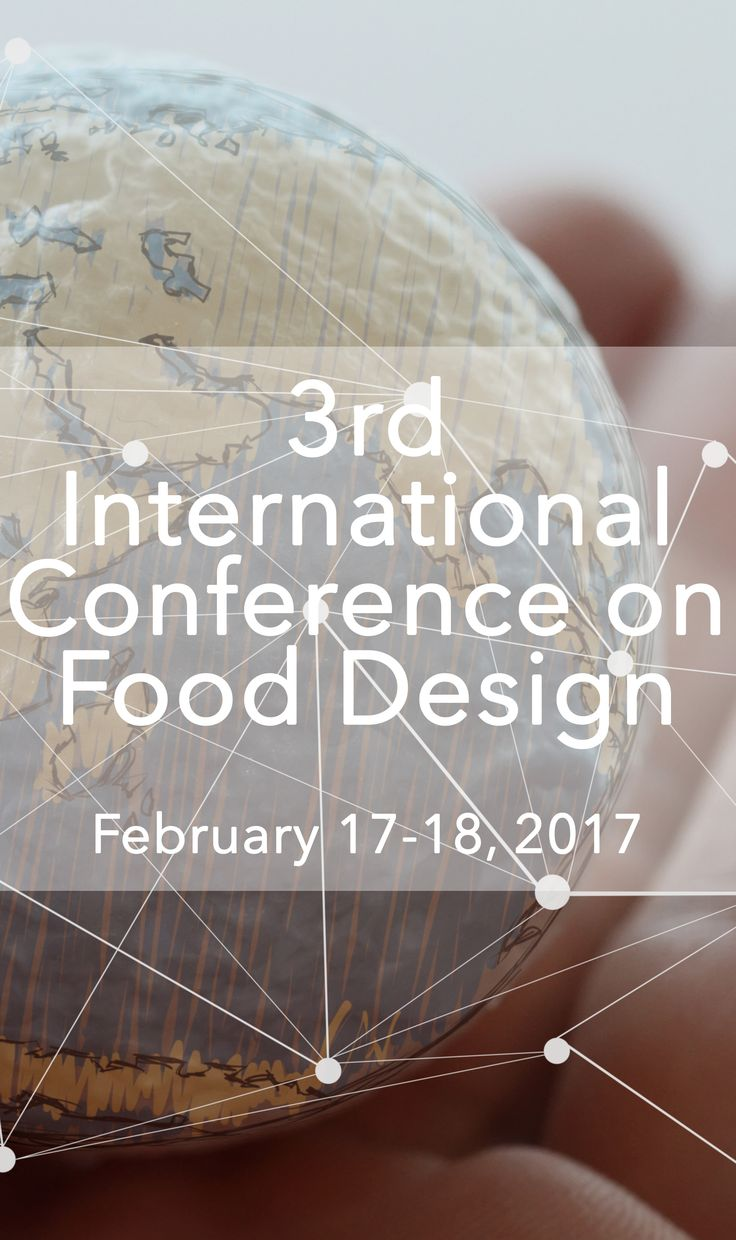 3rd International Food Design Conference: join us to share your Food Design projects, research and ideas, or to attend, listen, learn, meet people and network! =) More info here: http://onlineschooloffooddesign.org/courses/food-design-conference