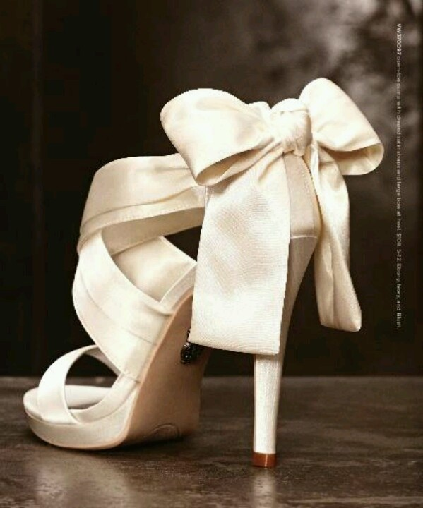 Chaussures de mariage / Vera Wang wedding shoes