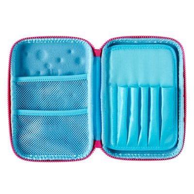 Bubble Hardtop Pencil Case from Smiggle - I use this for all my stationery to carry around with my Filofax.