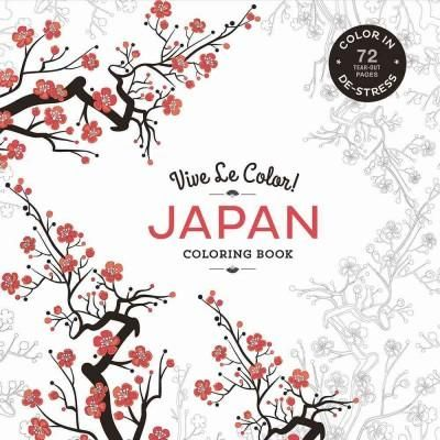 Japan: Color In: De-stress (Paperback)
