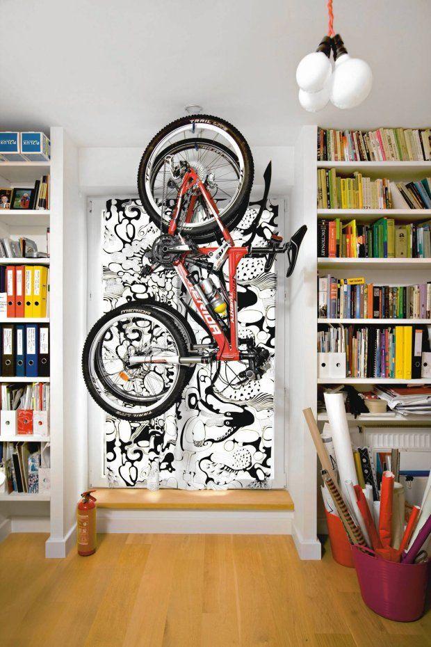Przechowywanie rowerów w mieszkaniu