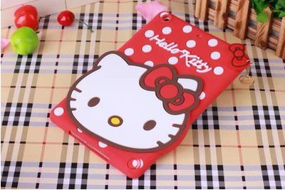 Silicone Cover with Cartoon Hallo Kitty picture for