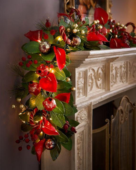 Gorgeous Christmas Floral Arrangements Holidays