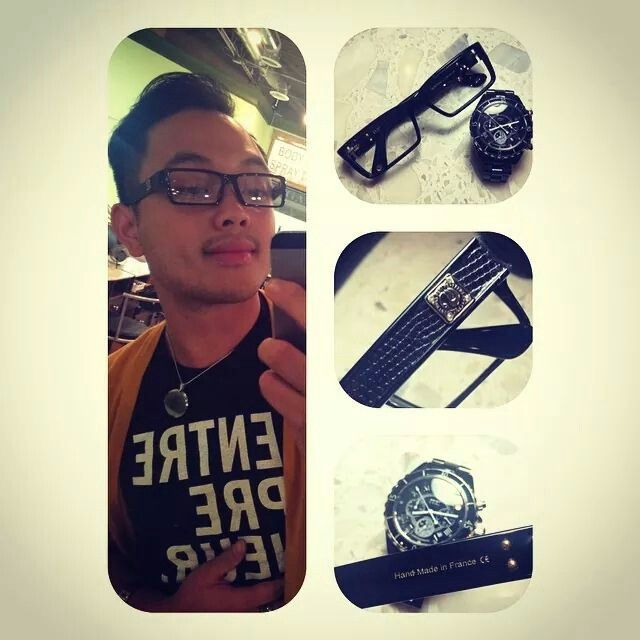 """Even men with perfect vision can't resist wearing FERI OPTICALS. FERI Ambassador Marshall received a compliment within 5 mins of wearing this. Very common with FERI products. """"Get paid to see."""""""