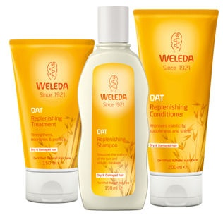 Weleda natural hair care - launching soon