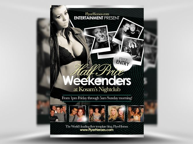 51 best party flyer images on pinterest party flyer club flyers 20 new free club flyer templates saigontimesfo
