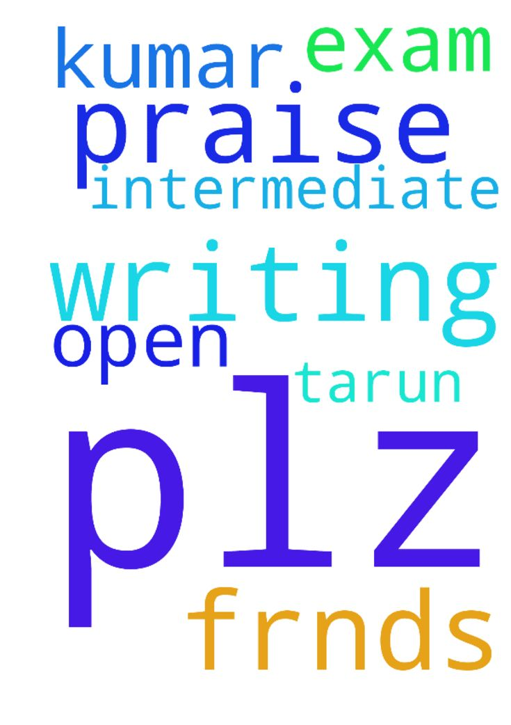 Praise the lord  Frnds, plz pray about  me I am writing - Praise the lord Frnds, plz pray about me I am writing open intermediate exam ,so please pray about me Tarun kumar Posted at: https://prayerrequest.com/t/Dbh #pray #prayer #request #prayerrequest