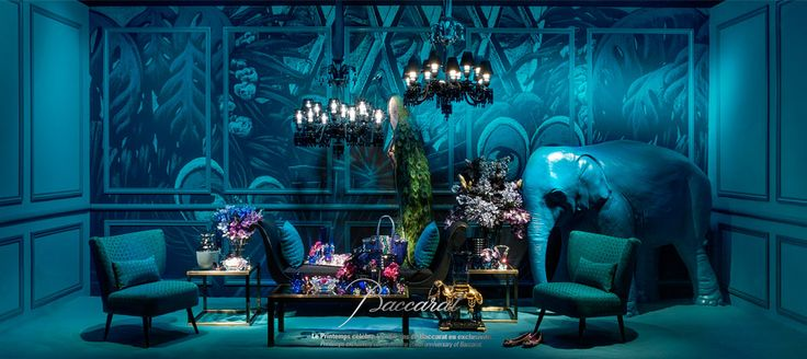 250 years of Baccarat celebrated with a in-store display at Printemps | Interior Design Shop