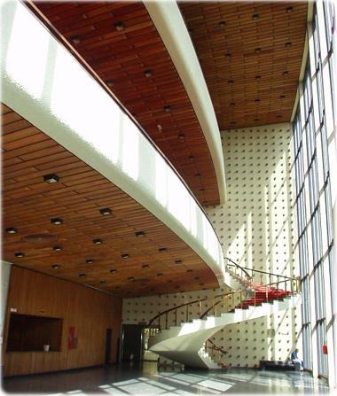 Theater architecture