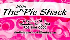 TO TRY - The Little Pie Shack, Fenelon Falls, ON