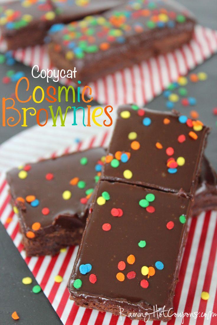 Copycat Cosmic Brownies