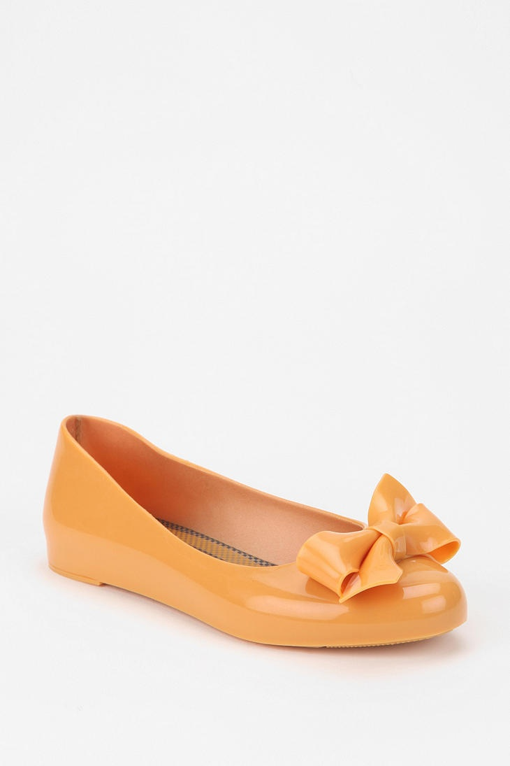 Closer to my veil color Mel By Melissa Shoes Bow Skimmer @ UrbanOutfitters