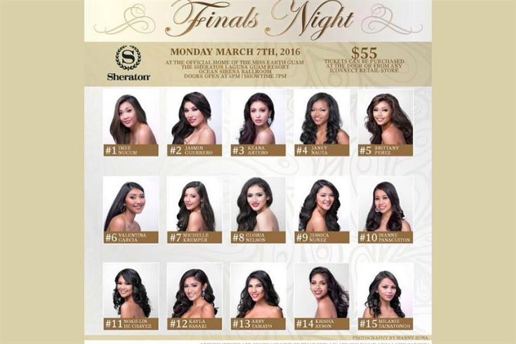 Miss Earth Guam 2016 Live Telecast, Date, Time and Venue