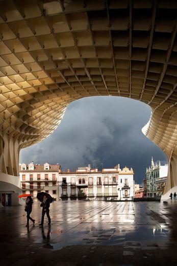 METROPOL PARASOL - Redevelopment of Plaza de la Encarnacion, Seville, Spain by Jurgen Mayer H. Architects