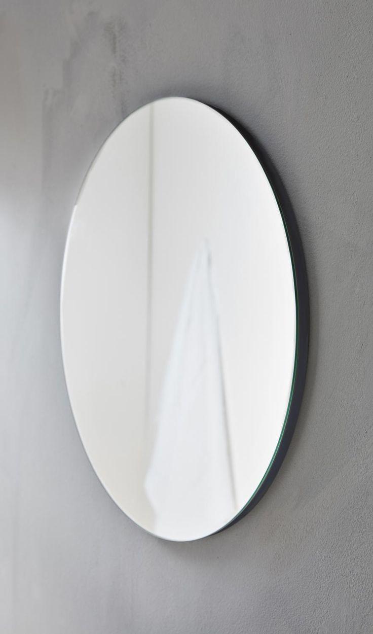 Rund spegel i 50, 75 eller 100 cm (Diameter)
