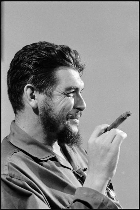 Che GUEVARA in CUBA, 1964               CUBA. Havana. FidelCastro(facing camera, to the left). 1964.