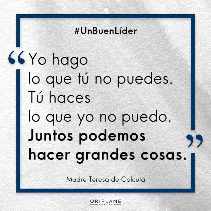 #UnBuenLíder Porque en equipo TODO siempre sale mejor.