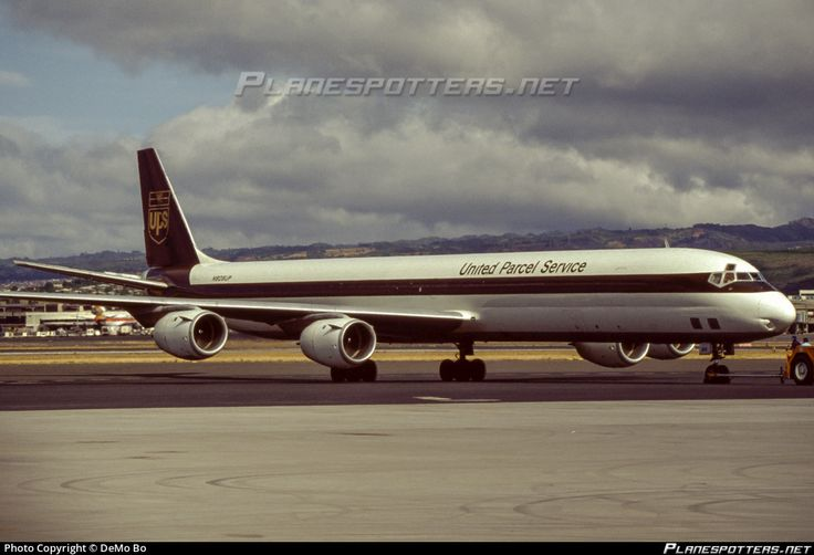 N808UP United Parcel Service (UPS) Douglas DC-8-73AF photographed at Honolulu - International (HNL / PHNL) by DeMo Bo
