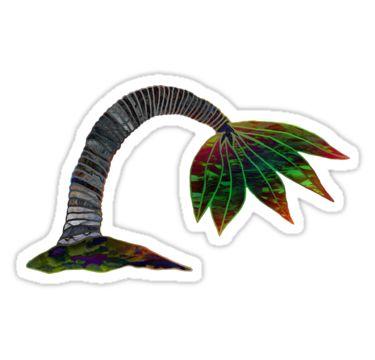 Tropical Palm Sticker by StickerNuts