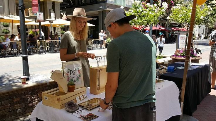 All American handmade goods, there's nothing better than shopping local. Come join us this Saturday, Sept. 10th and Makers Market in the Park at Santana Row!