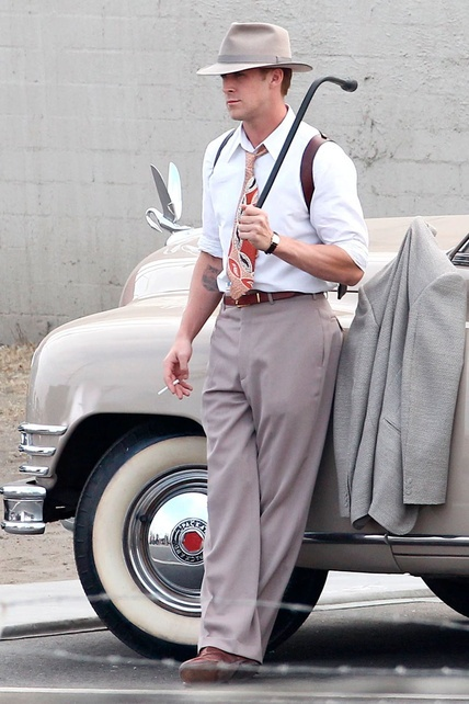 Ok so Ryan Gosling isnt old school but hes just damn fine!