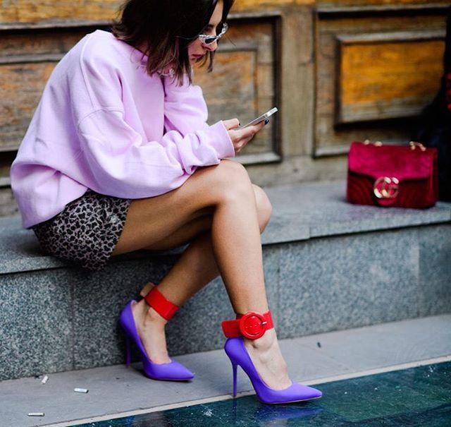 These. Shoes. 💜 || @nyavgjoe