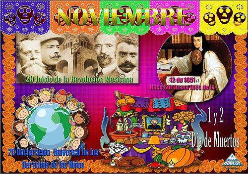Periodico Mural Noviembre : Por una mejor educación (CarlosRLun)