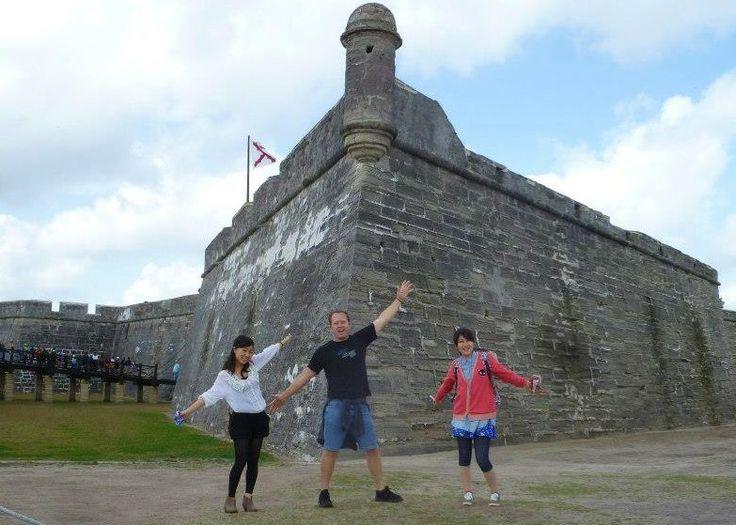Florida Fun Shuttle | My Vacation Pages - St. Augustine Castillo De San Marcos