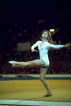 olga korbut 1972 uneven bars - Bing Images