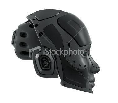 Robotic head Royalty Free Stock Photo