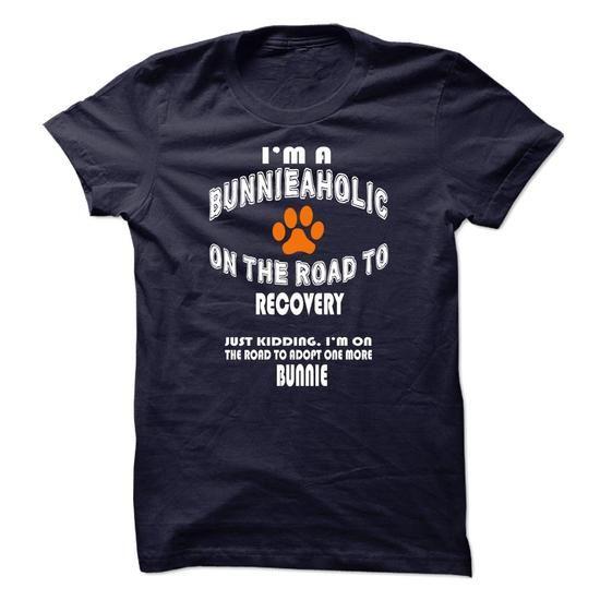 Limited Edition Im a Bunnie-aholic on the road to recov - #hoodies/sweatshirts…
