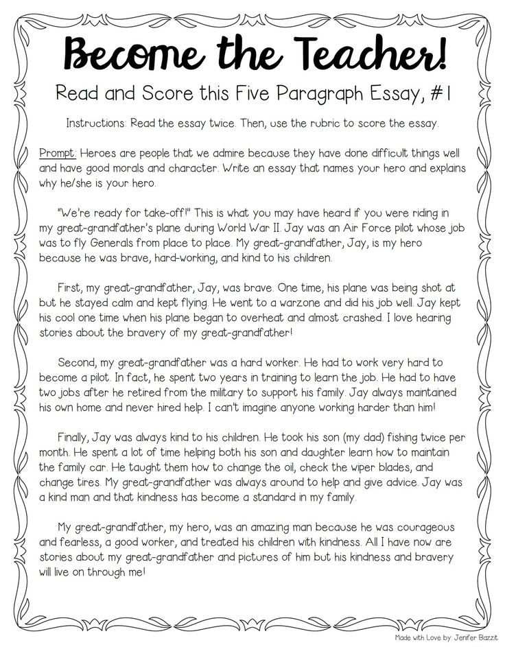 do essays have to have 5 paragraphs Essay, intimating that since the college board read- ers favor the style of the five- paragraph essay, high schoolers are going to have to learn to write five.
