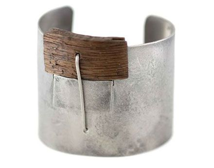 """cuff : Gustav Reyes  """"I believe that adornments become a physical representation of one's self to the world"""" says Reyes"""