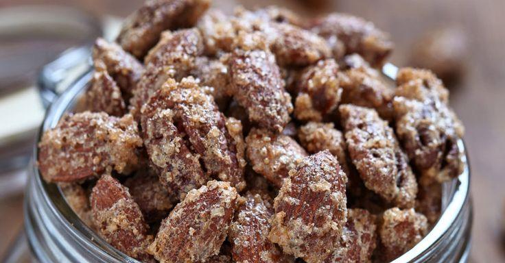 Sweet Snack Recipe: Cinnamon Sugar Glazed Nuts