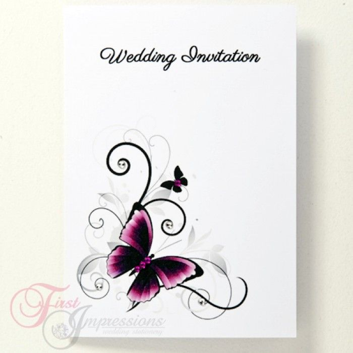 155 best Wedding Invitations images – Butterfly Wedding Invitations Cheap
