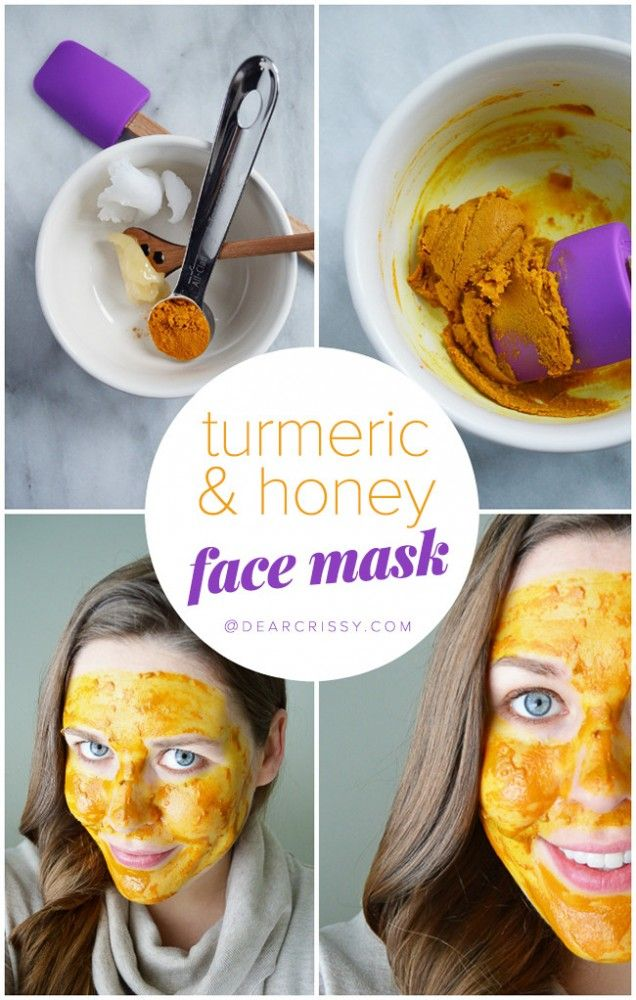 DIY Turmeric Honey Face Mask - Turmeric Mask for Acne | Honey Face ...