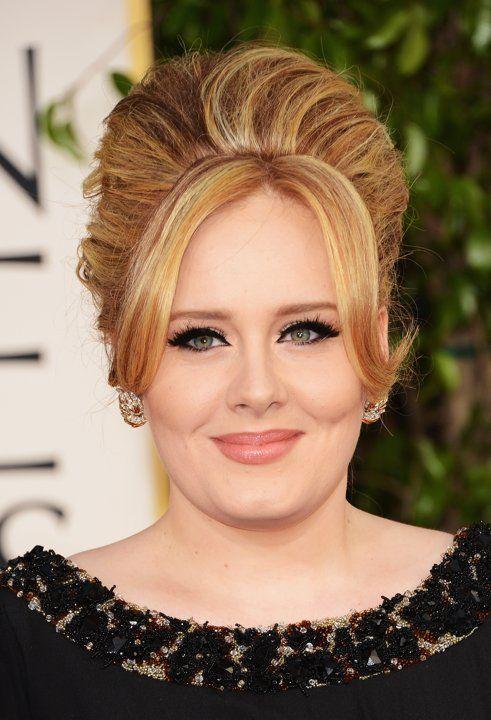 Tiru Gaya Updo Selebritas di Golden Globes 2013 Untuk ke Pesta