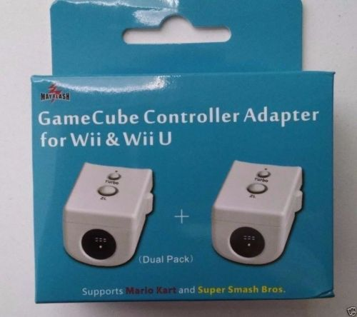 Mayflash Nintendo Dual Gamecube Controller Adapter for Wii and Wii U Smash Bros