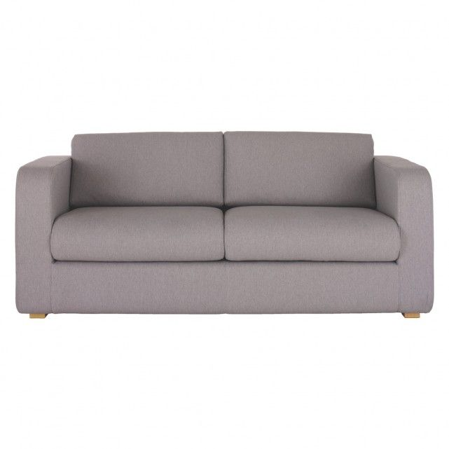 PORTO Grey fabric 3 seater sofa bed £695.00