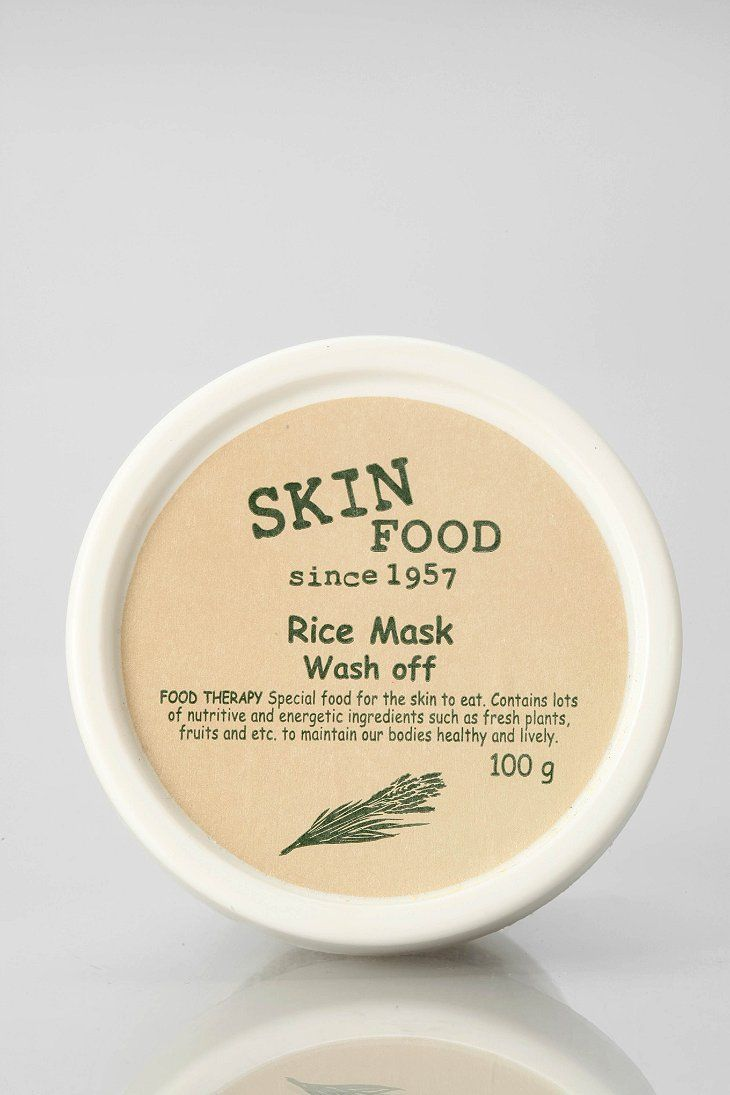 Skinfood Rice Mask $18 Urban Outfitters   A wash-off mask formulated with rice extract to moisturize and tone, this magic mixture leaves skin bright, soft and lustrous. Simply apply over freshly-washed skin, leave on for 10-15 minutes, then rinse off with warm water!