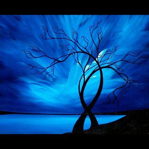 Original Tree Painting - We Danced... by Jaime Best (SOLD)