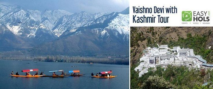 Book Vaishno Devi with Kashmir Tour to experience the most vivid facets of religion and nature residing in this paradise on earth.  Vaishno Devi remains a highly visited pilgrimage among Hindus where people flock from all over India to seek blessings of Goddess Durga.