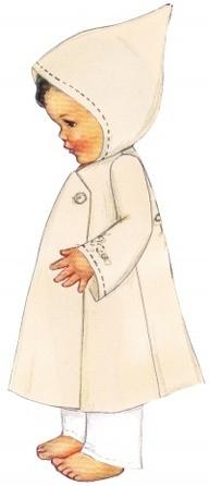 """Bessie Pease Gutmann Illustrator, """"Annie Is One"""", circa unknown."""